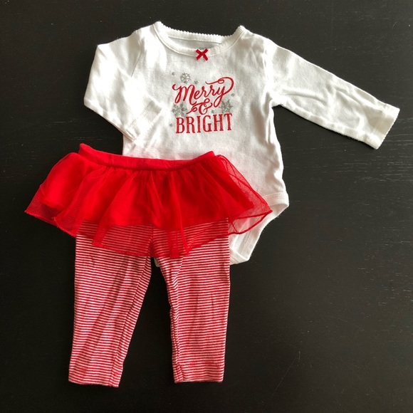 c20284c9b Carter's Matching Sets | Carters Baby Girl Christmas Outfit | Poshmark